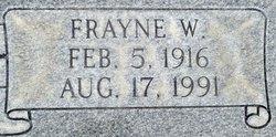 Frayne Wilford Christensen