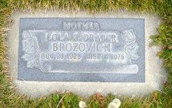 Lola <I>Draper</I> Brozovich