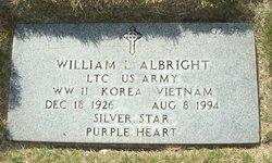 LTC William Lynn Albright, Sr