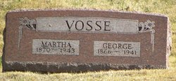 Martha American <I>Yocum</I> Vosse