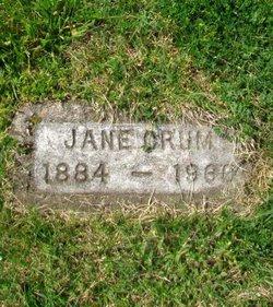Nancy Jane <I>Johnson</I> Crum