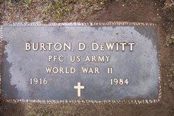 PFC Burton D DeWitt