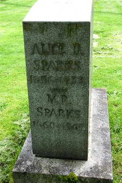 Alice D Sparks