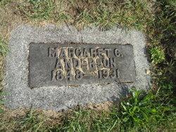 Margaret C <I>Corcoran</I> Anderson