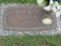 Macie Adeline Allen