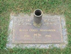 Rufus Odell Alexander