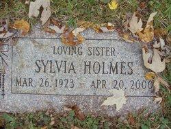 Sylvia Holmes