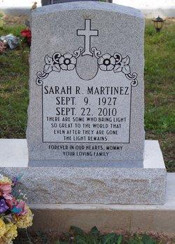 Sarah <I>Rodriguez</I> Martinez