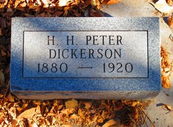 """H. H. """"Peter"""" Dickerson"""