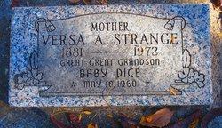 Versa A. <I>Hayden</I> Strange
