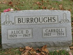 Alice Claire <I>Day</I> Burroughs