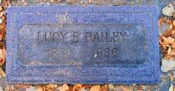 Lucy E. Bailey