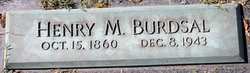 Henry M Burdsal