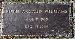 Ruth <I>Argaud</I> Williams