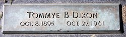 Tommye B Dixon
