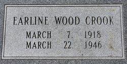 Earline <I>Wood</I> Crook