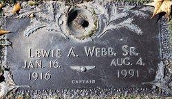 Lewie A Webb, Sr