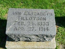 Ann Elizabeth <I>Millner</I> Tillotson
