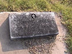 Johnnie Gunter
