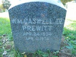 William Caswell Prewitt, IV
