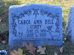 Carol Ann <I>Hill</I> Corey