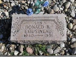 Donald K Cousineau