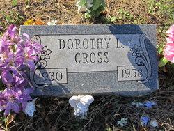 Dorothy L <I>Seaman</I> Cross