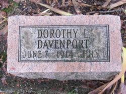 Dorothy Leone Davenport