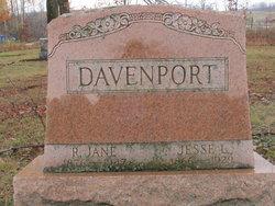Rebecca Jane <I>Hole</I> Davenport
