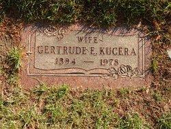 Gertrude E Kucera