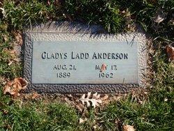 Gladys Ethel <I>Ladd</I> Anderson