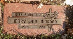 Mary Jane Riordan