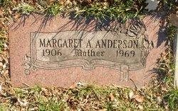 Margaret <I>Evans</I> Anderson