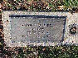 Cassius A Mills