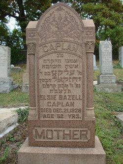 Elsie <I>Bazell</I> Caplan
