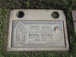 Sophie <I>Englehardt</I> Gesell