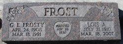 "Gerald Edgar ""Frosty"" Frost"