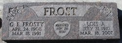 Lois A. <I>Rossiter</I> Frost