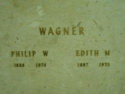 Edith M Wagner
