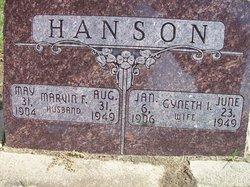 Gyneth I Hanson