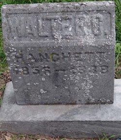 Walter Caleb Hanchett