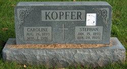 Caroline G <I>Kopfer</I> Kopfer