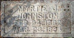 Myrtie J Johnston