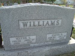 Cleta Leona <I>Lilley</I> Williams