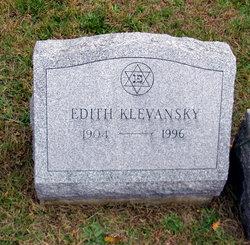 Edith Klevansky