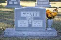 George Washington Wyatt, Sr
