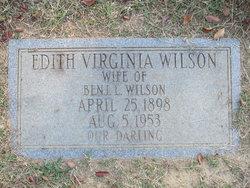 Edith Virginia Wilson