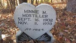 Minnie M. Mostiller