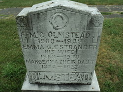 Emma G <I>Ostrander</I> Olmstead