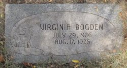 Virginia Bogden